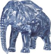 3D Crystal Puzzle - Elefant 40 Teile