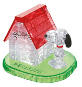 3D-Puzzle Crystal Snoopy House, 50 Teile
