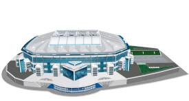 Puzzle 3D Stadion Veltins Arena Schalke 147 Teile