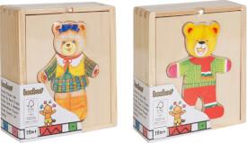 Beeboo Anzieh-Bär in Schatulle, 2-fach sortiert