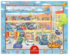 Rahmenpuzzle - Im Parkhaus 40 Teile
