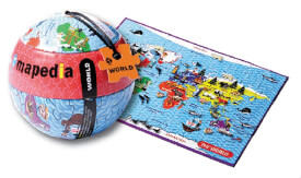 Mapedia Welt Puzzle 100 Teile (d) (MQ4