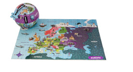 The_Purple_Cow - Mapedia Europa Puzzle 100 Teile