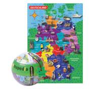 The_Purple_Cow - Mapedia Deutschland Puzzle 100 Teile