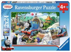 Ravensburger 09043 Puzzle Thomas und seine Freunde 2 x 24 Teile
