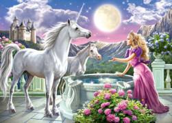 Spielwaren: Princess and her Unicorns,Puzzle 120 Tei