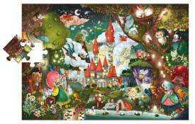 Puzzle  Bodenpuzzle Zauberschloss 48 Teile
