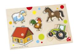 Selecta - Puzzle Bauernhof