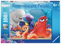 Ravensburger 108756  Puzzle Disney Findet Dorie - Dories Abenteuer, 100 Teile