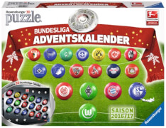 Ravensburger 116966  3D Puzzle-Ball Bundesliga Adventskalender 27 Teile