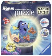 Ravensburger 121892 3D Puzzle-Ball Nachtlicht Disney Pixar Findet Dorie 72 Teile