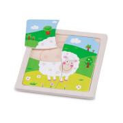Mini - Puzzle - Schaf