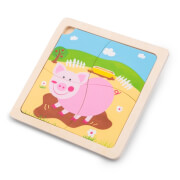 Mini - Puzzle - Schwein