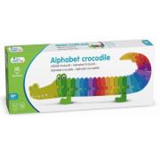 Alphabet Puzzle - Krokodil