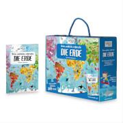 Puzzle Bodenpuzzle Die Erde 205 Teile inklusive Begleitbuch
