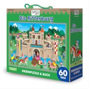 Puzzle Bodenpuzzle Die Ritterburg 60 Teile inklusive Begleitbuch