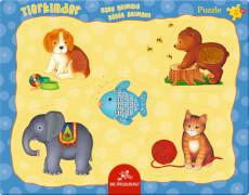 Fühlpuzzle Tierkinder 5 Teile