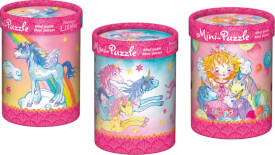 Zauberhafte Mini-Puzzles Prinzessin Lillifee 40 Teile sortiert
