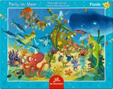 Rahmenpuzzle Party im Meer 24 Teile