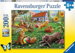 Ravensburger 12828 Puzzle: Entdecker auf vier Pfoten 200 Teile