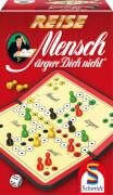 Schmidt Spiele 49324 Mensch Ärgere Dich Nicht, Reise-Edition, 2 bis 4 Spieler, ab 6 Jahre
