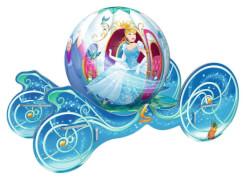 Ravensburger 118236 Puzzleball Disney Princess Cinderella Kutsche, 72 Teile