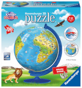 Ravensburger 123377 Puzzleball: Kindererde deutsch, 180 Teile