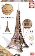 3D Monument Puzzle Eiffelturm 63 Teile