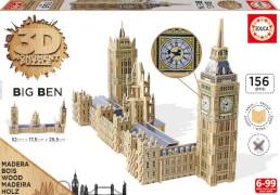 3D Monument Puzzle Big Ben mit Parlament 156 Teile