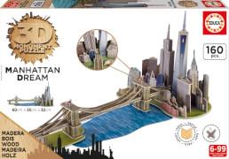 3D Monument Puzzle Manhatten Dream 160 Teile