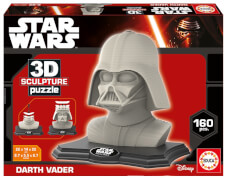 3D Sculpture Puzzle Star Wars Darth Vader 160 Teile