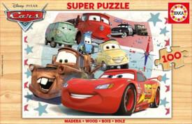 Educa - Holzpuzzle Cars 100 Teile