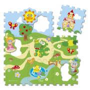 Chicco Puzzle Matten Schloss, 9-teilig