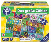 Puzzle Das grosse Zählen, 20 Teile (mult.)
