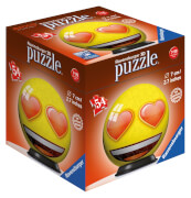 Ravensburger 119219 Puzzleball: Emoji, 54 Teile