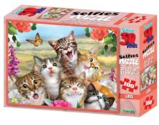 Philos 3D Puzzle Kids, 100 Teile, Cat Selfie