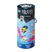 Puzzle Piraten 100 Teile mit Poster als Puzzlevorlage