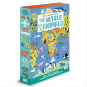 Puzzle Die Welt der Tiere 200 Teile + 12 3D Teile