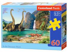 Spielwaren: In the Dinosaurus World,Puzzle 60 Teile