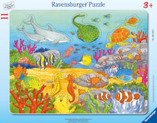 Ravensburger 06149 Puzzle: Fröhliche Meeresbewohner 11 Teile