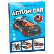 Depesche 6357 Monster Cars 3D Puzzle mit Rückzugsmotor