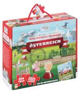Pz. Österreich - Riesenpuzzle und Buch 205T