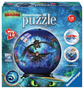Ravensburger 11144 Puzzleball Dreamworks Dragons 3 72 Teile Junior
