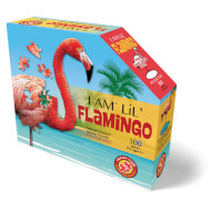 Madd_Capp - Shape Puzzle Junior Flamingo 100 Teile