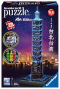Ravensburger 11149 Puzzle 3D Taipei 101 bei Nacht 216 Teile