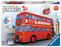 Ravensburger 12534 Puzzle 3D London Bus 216 Teile