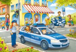 Noris  XXL Puzzle Auf Streife mit der Polizei