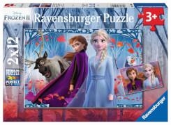 Ravensburger 05009 Puzzle Disney Die Eiskönigin 2 2x12 Teile