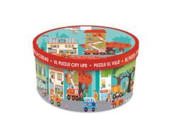 Scratch - Boden Puzzle Stadt 100 Teile