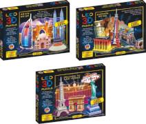 LED 3D Diorama Puzzle - 51 Teile Motiv: Asien Reise